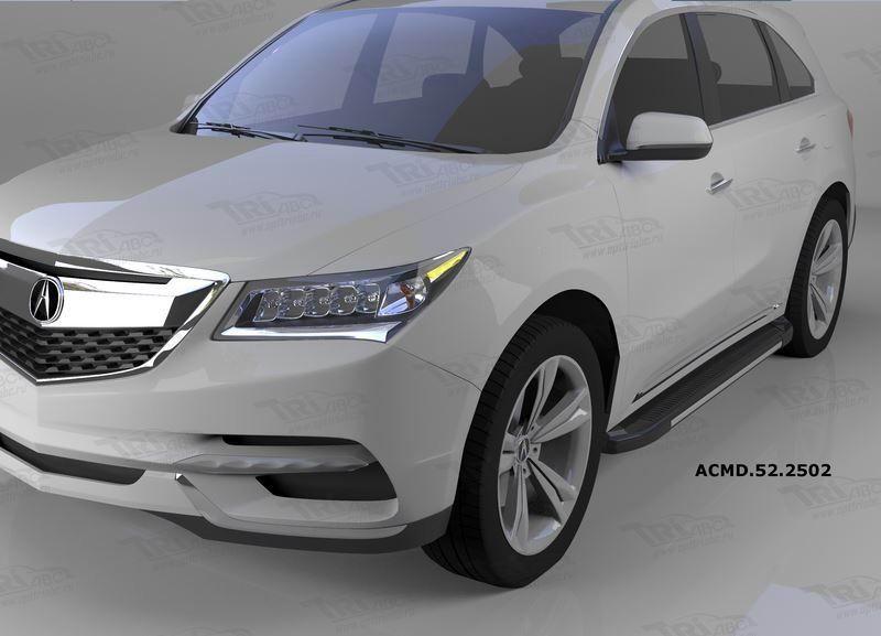 Can Otomotiv ACMD.52.2502 пороги алюминиевые (Onyx) Acura MDX (2014-)