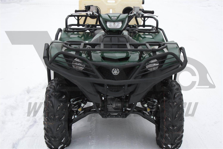 Can Otomotiv ALF120165AL бампер (кенгурин) передний на квадроцикл Yamaha Grizzly 700 2015- (стальная труба 32мм)
