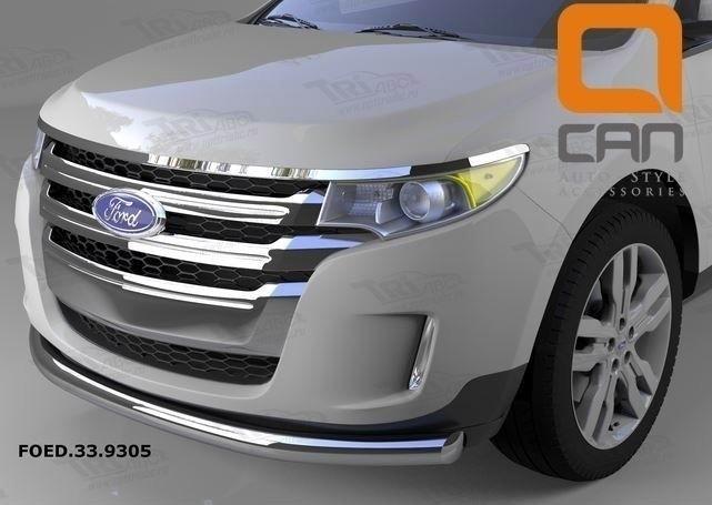 Can Otomotiv FOED.33.9305 защита переднего бампера Ford Edge (2014-) (одинарная) d 76