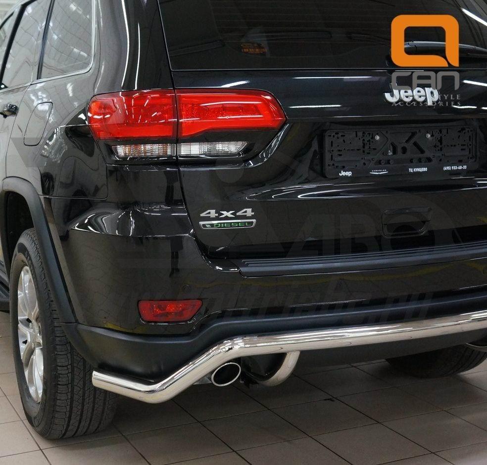 Can Otomotiv JECH.57.1311 защита заднего бампера Jeep Grand Cherokee (2011-) (волна) d 60