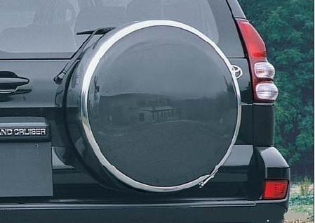 Руссталь бокс запасного колеса на Toyota Land Cruiser Prado