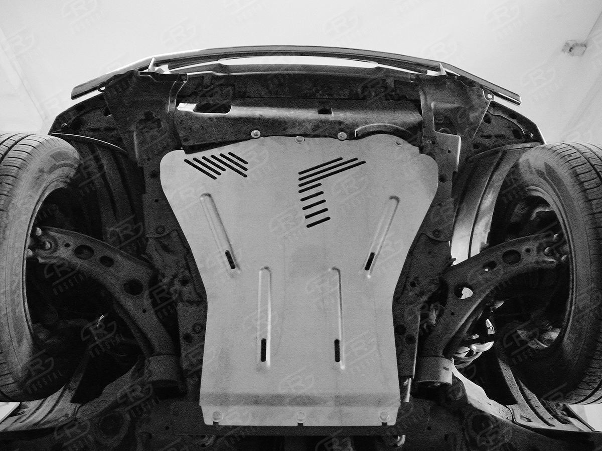 Руссталь ZKHCRV17-002 защита картера на Honda CR-V 2017-