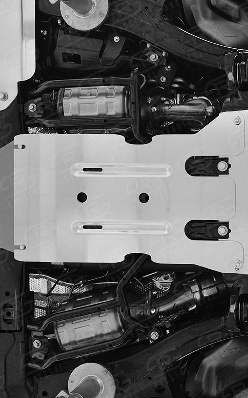 Руссталь ZKLLX15-003 защита КПП на Lexus LX450d-LX570 2015 (кроме F-Sport)