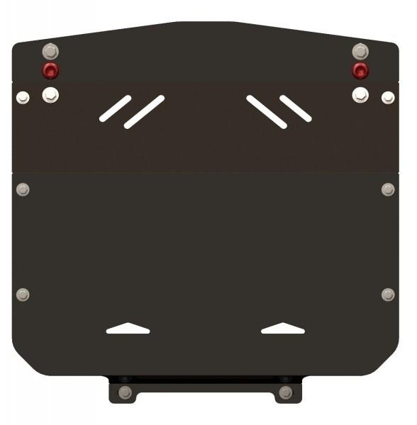 Защита картера сталь 2 мм Шериф 02.0087 Audi A6 1994–1997