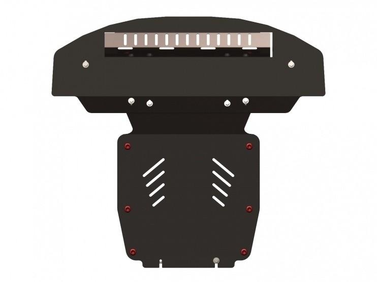 Защита картера сталь 2,5 мм Шериф 02.0943 Audi Q7 2006–2014