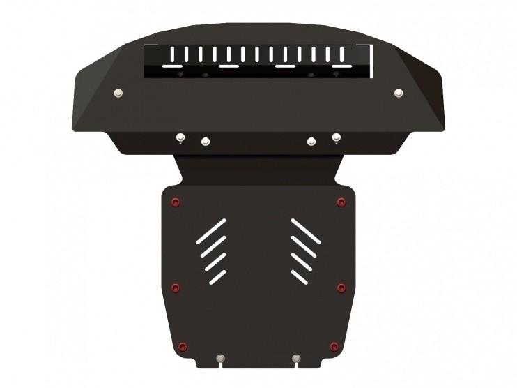 Защита картера сталь 2,5 мм Шериф 02.1020 Audi Q7 2006–2014