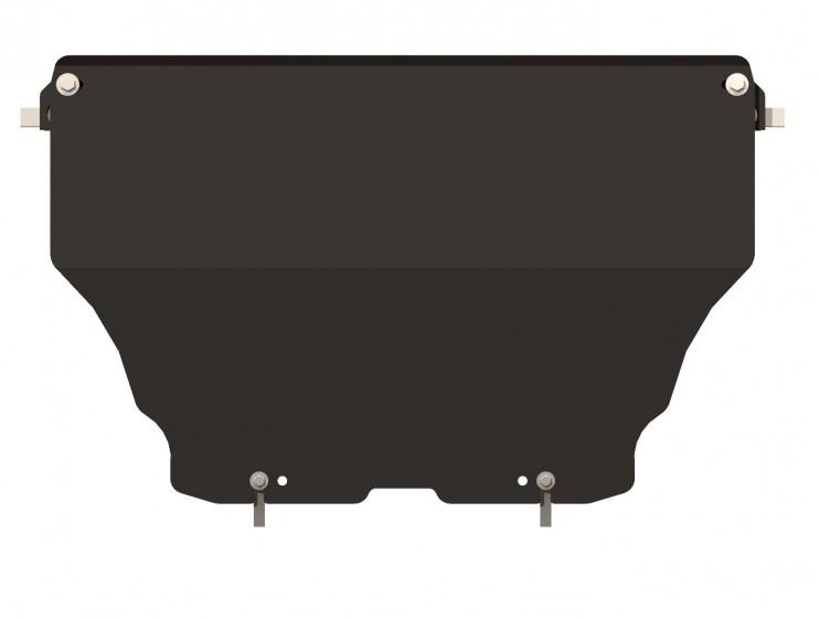 Защита картера сталь 2 мм Шериф 02.1483 Audi A4 2007–2011