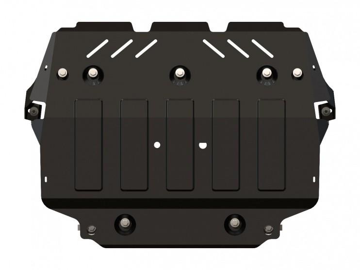 Защита картера и КПП сталь 2 мм Шериф 02.1988 Audi A3 2003–2012