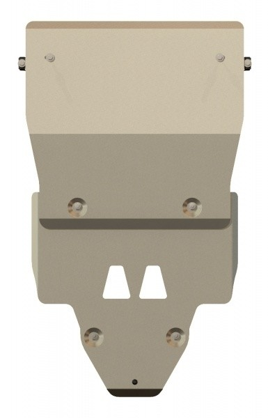 Защита картера и КПП алюминий 5 мм Шериф 02.2295 Audi A4 2011–