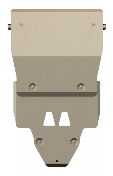 Защита картера и КПП алюминий 5 мм Шериф 02.2295 Audi A5 Sportback Quattro 2012–