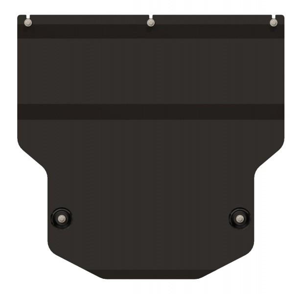 Защита картера и КПП сталь 2 мм Шериф 02.2331 Audi Q3 2011–