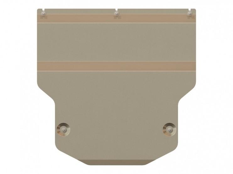 Защита картера и КПП алюминий 5 мм Шериф 02.2332 Audi Q3 2011–