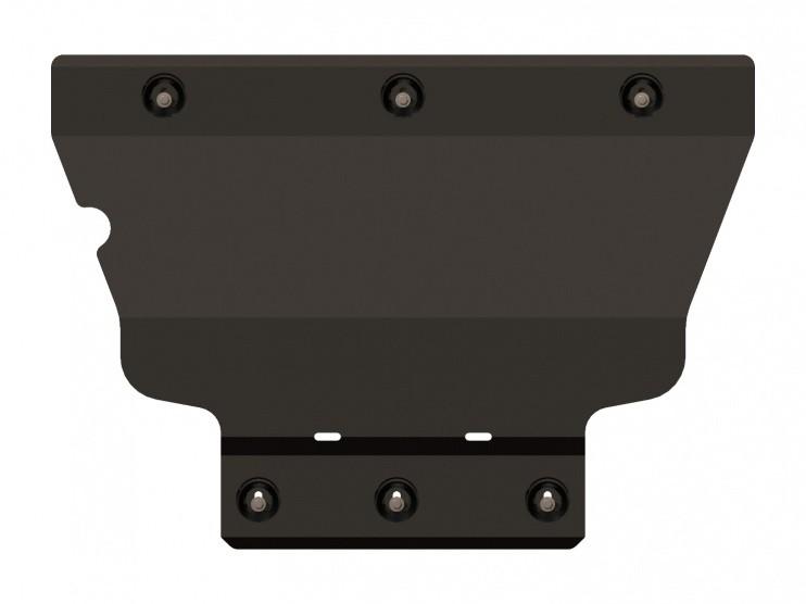 Защита картера и КПП сталь 2 мм Шериф 02.2415 Audi A3 2012–