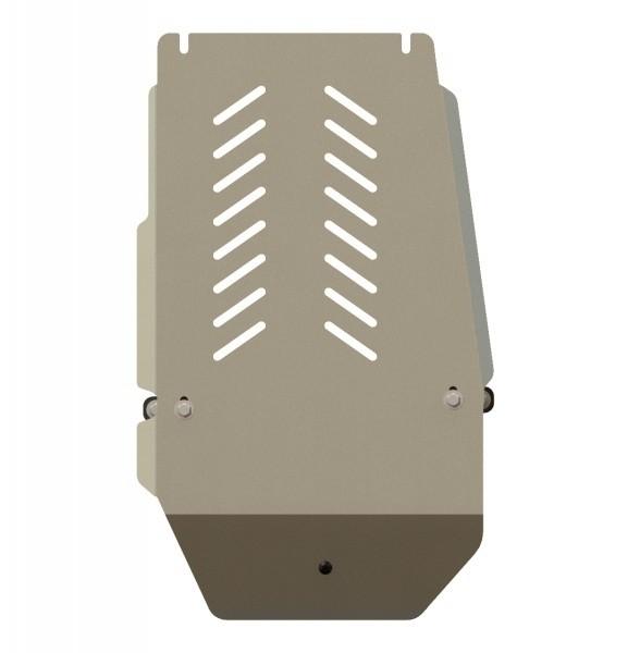 Защита АКПП алюминий 5 мм Шериф 03.1744 BMW X6 2008–