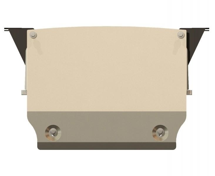Защита картера алюминий 5 мм Шериф 03.2297 BMW GT установка на пыльник 2012–