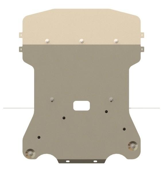 Защита картера и КПП алюминий 5 мм Шериф 03.2344 BMW 3ER 2005–2011