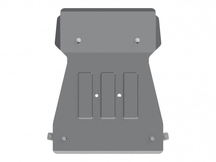 Защита картера и КПП алюминий 4 мм Шериф 03.2638 BMW 4ER Coupe 2013–