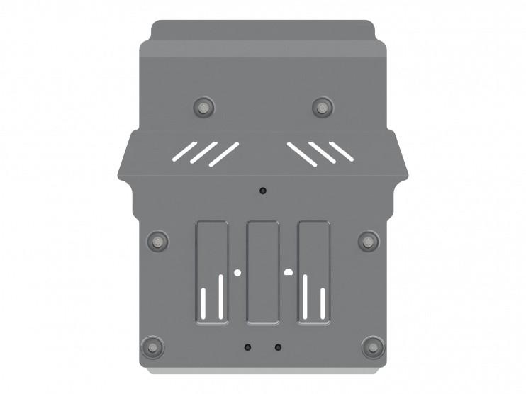 Защита картера и КПП алюминий 4 мм Шериф 03.2729 BMW 3ER 2011–