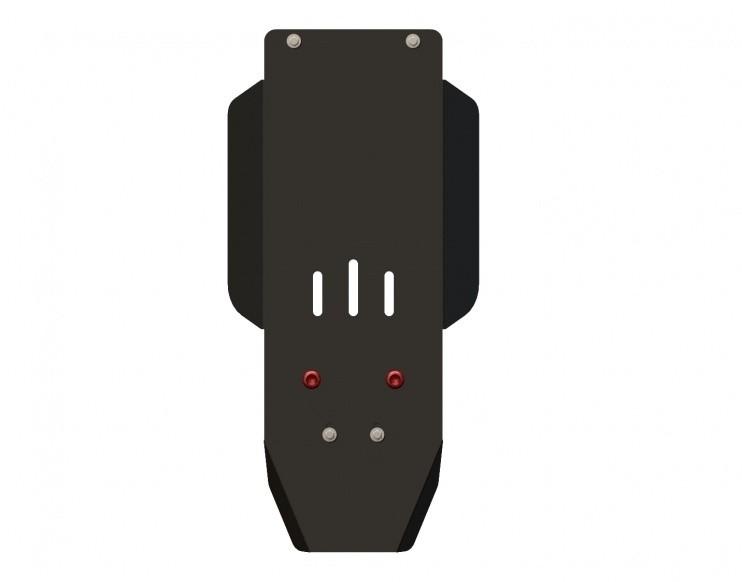 Защита КПП и РК сталь 2,5 мм Шериф 04.0534 Chevrolet Tracker 2000–2004