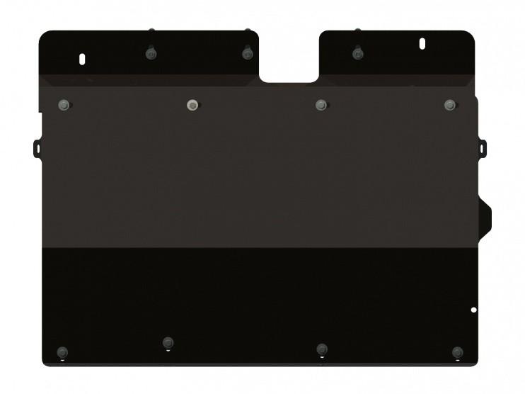 Защита картера и КПП сталь 2 мм Шериф 04.0626 Chrysler Voyager 2001–2008