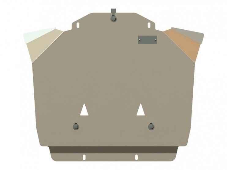 Защита картера алюминий 5 мм Шериф 04.0739 Chrysler 300C 2004–2010
