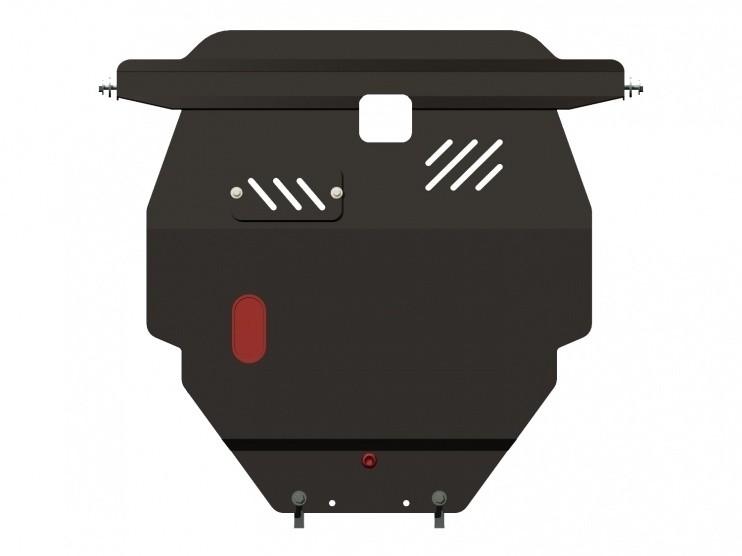 Защита картера и КПП сталь 2 мм Шериф 04.0743 Pontiac Vibe 2002–2008