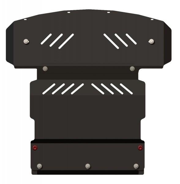 Защита картера сталь 2 мм Шериф 04.0949 Lincoln LSE 1998–2006