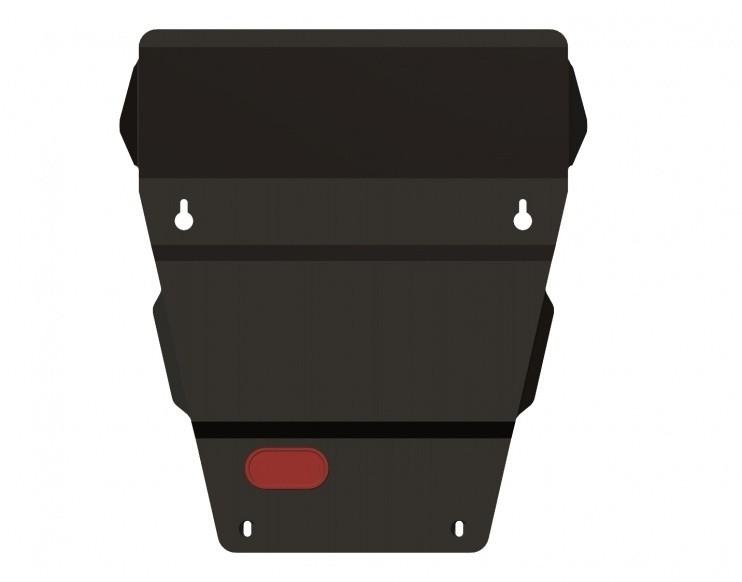 Защита картера сталь 2,5 мм Шериф 04.0963 Jeep Commander 2005–2010
