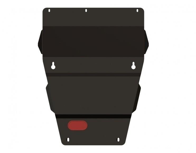 Защита картера сталь 2,5 мм Шериф 04.0972 Jeep Grand Cherokee 2004–2010