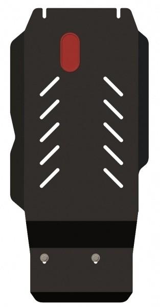 Защита КПП сталь 2,5 мм Шериф 04.0975 Dodge Nitro 2007–2011