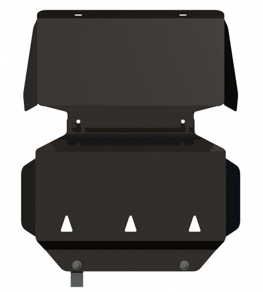 Защита картера сталь 2,5 мм Шериф 04.1061 Cadillac Escalade 2007–