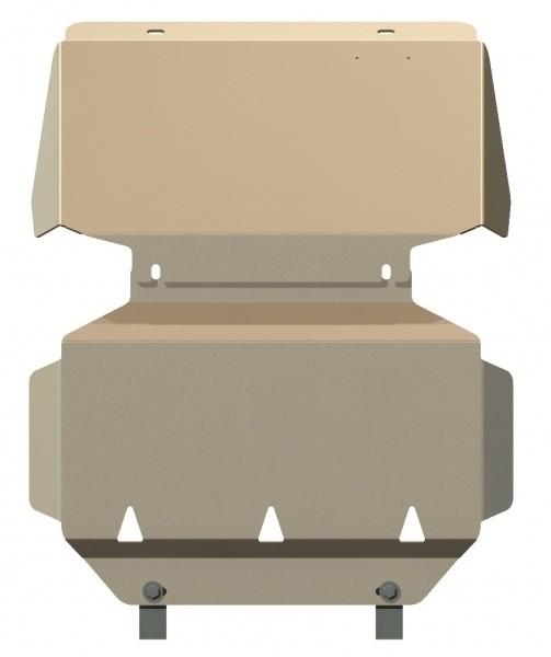 Защита картера алюминий 5 мм Шериф 04.1062 Chevrolet Tahoe 2007–