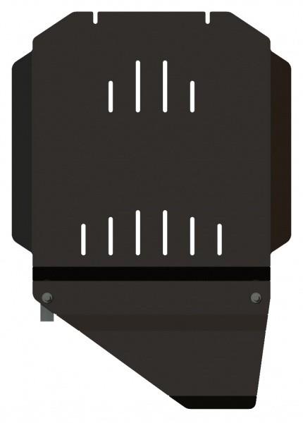 Защита КПП и РК сталь 2,5 мм Шериф 04.1063 Cadillac Escalade – для 1061 2007–