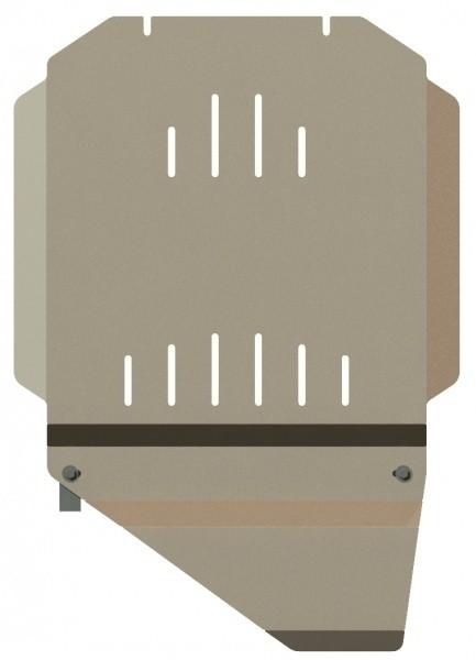 Защита КПП и РК алюминий 5 мм Шериф 04.1064 Chevrolet Tahoe 2007–