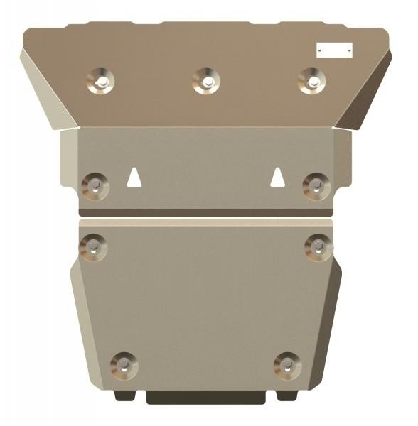 Защита картера алюминий 5 мм Шериф 04.1319 Land Rover Discovery 3 2004–2009
