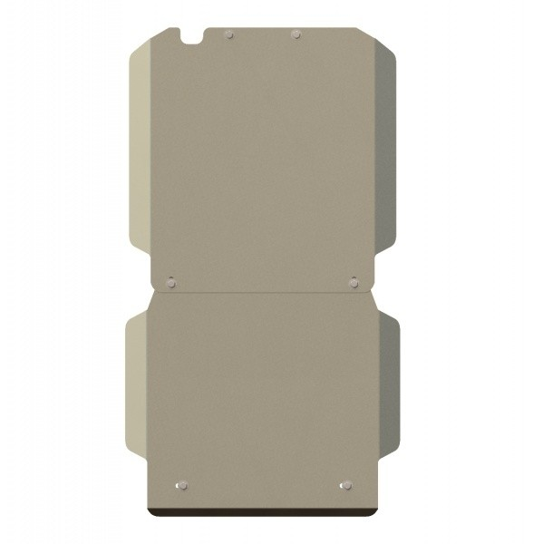 Защита КПП алюминий 5 мм Шериф 04.1469 GMC Hummer H3 2005–2010