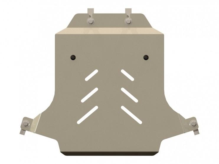 Защита картера алюминий 5 мм Шериф 04.1487 Cadillac CTS 2007–
