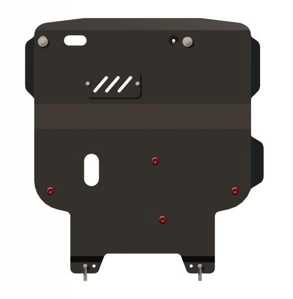 Защита картера и КПП сталь 2,5 мм Шериф 04.1508 Dodge Journey 2008–