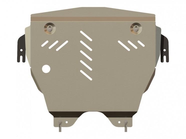 Защита картера и КПП алюминий 5 мм Шериф 04.1694 MINI Cooper 2006–