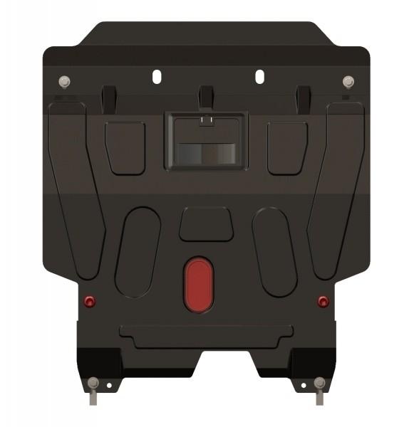 Защита картера и КПП сталь 1,8 мм Шериф 04.1788 Chevrolet Lacetti 2004–