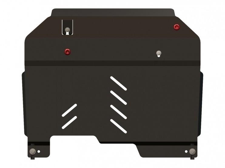 Защита картера и КПП сталь 2,5 мм Шериф 04.1791 Chevrolet Captiva 2006–2011
