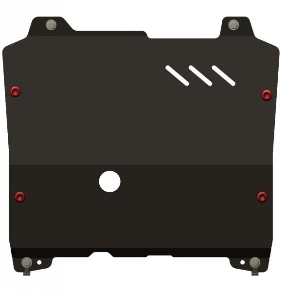 Защита картера и КПП сталь 2 мм Шериф 04.1792 Chevrolet Orlando 2011–