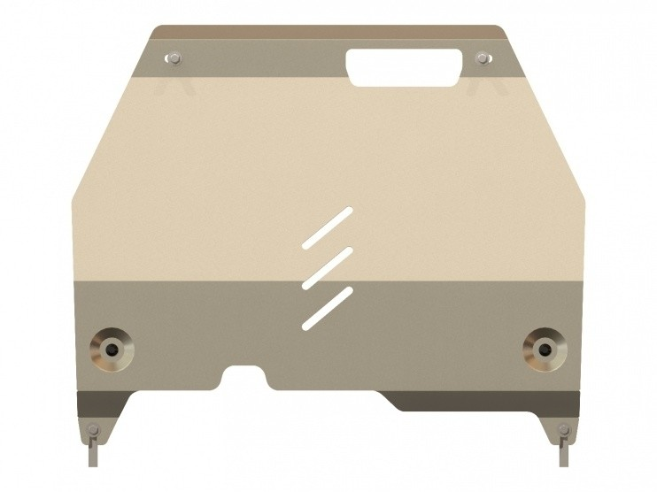 Защита картера и КПП алюминий 5 мм Шериф 04.1922 Cadillac SRX 2010–