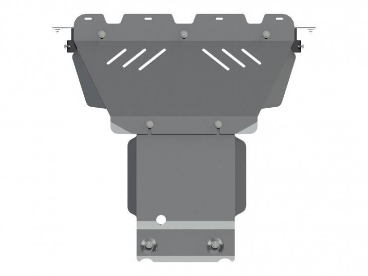 Защита картера алюминий 5 мм Шериф 04.1941 Jeep Grand Cherokee 2010–2013