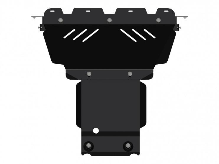 Защита картера сталь 2,5 мм Шериф 04.1978 Jeep Grand Cherokee 2010–2013