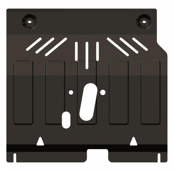 Защита картера и КПП сталь 2 мм Шериф 04.2193 Chevrolet Aveo 2011–