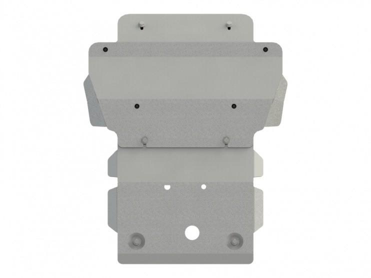 Защита картера алюминий 5 мм Шериф 04.2447 V1 Chevrolet Trailblazer 2012–