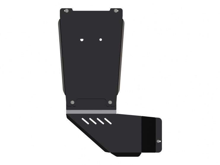 Защита КПП и РК сталь 2,5 мм Шериф 04.2448 V1 Chevrolet Trailblazer 2012–