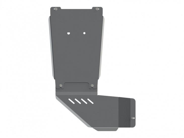 Защита КПП и РК алюминий 5 мм Шериф 04.2449 V1 Chevrolet Trailblazer 2012–