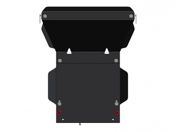 Защита картера сталь 3 мм Шериф 04.2544 Dodge RAM 3500 2013–